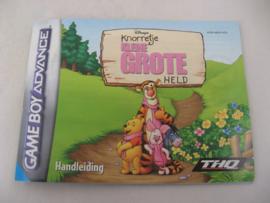 Knorretje Kleine Grote Held *Manual* (HOL)