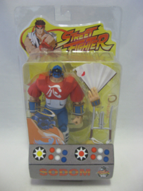 Street Fighter 15th Anniversary - Round 1 - Sodom Figure (New)