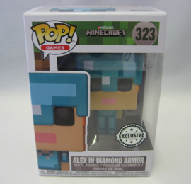POP! Alex in Diamond Armor - Minecraft - Exclusive (New)