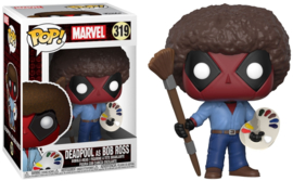 POP! Deadpool as Bob Ross - Marvel (New)
