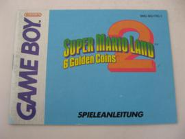 Super Mario Land 2: 6 Golden Coins *Manual* (FRG)