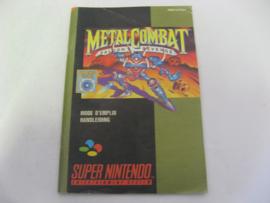 Metal Combat Falcon's Revenge *Manual* (FAH)