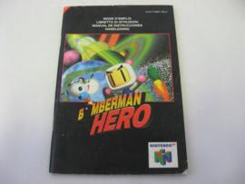 Bomberman Hero *Manual* (NEU4)