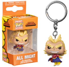POP! All Might - My Hero Academia - Pocket Keychains (New)