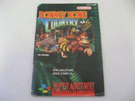 Donkey Kong Country *Manual* (FRG)