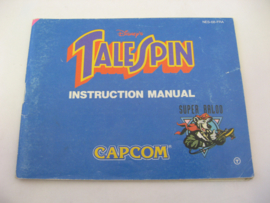 Disney's TaleSpin *Manual* (FRA)