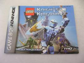 Lego Knights' Kingdom *Manual* (USA)