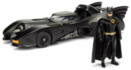 1989 Batmobile with Diecast Batman Figure 1:24 (New)