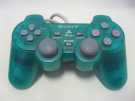 Original PS One Dual Shock Controller 'Green'