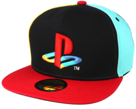 Cap: PlayStation - Snapback with Original Logo Colors (New)