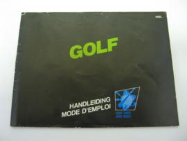 Golf - Black Box *Manual* (HOL)