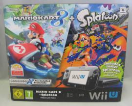 Wii U Premium Pack 32GB 'Mario Kart 8 + Splatoon' Pack (Boxed)