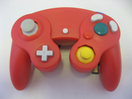 Wired Controller for Wii & GameCube - Red (New)