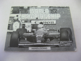 Nigel Mansell's World Championship *Manual* (NOE*)