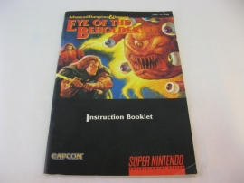 Advanced Dungeons & Dragons - Eye of the Beholder II *Manual* (USA)