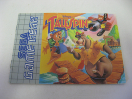 Disney's TaleSpin *Manual* (GG)