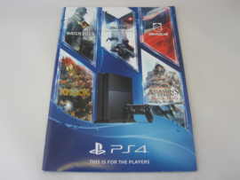 PlayStation 4 - This if for the Players - Promotional Catalog
