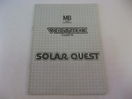 Solar Quest *Manual* (Vectrex)