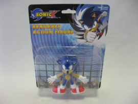 Sonic X - Bendable Action Figure - Sonic (New)