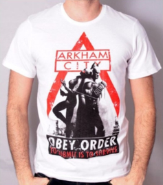 Shirt: Arkham City, Obey Order - Size: M (New)