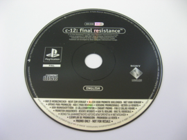 C-12: Final Resistance - SCES-03364 (Promo, NFR)