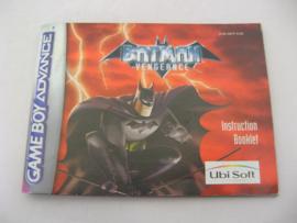 Batman Vengeance *Manual* (EUR)