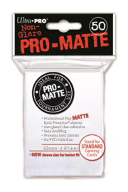 SLEEVES - Pro-Matte White (New)
