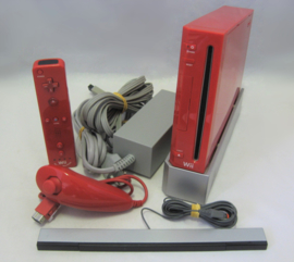Nintendo Wii Console Set 'Red Limited Edition 25th Anniversary'