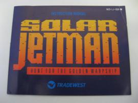 Solar Jetman *Manual* (USA)