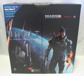 PlayStation 3 Slim - 3D Armored Gaming Case 'Mass Effect 3' Vault (New)