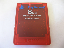 PlayStation 2 Official Memory Card 8MB 'Red'