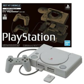PlayStation (SCPH-1000) - 2/5 Plastic Model Kit - Best Hit Chronicle (New)