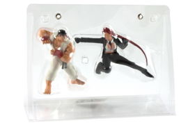 Street Fighter IV Collector's Edition - Ryu and Crimson Viper Figurines (New)