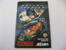 Batman Forever *Manual* (EUR)