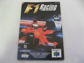 F1 Racing Championship *Manual* (EUR)