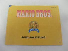 Mario Bros - Classic Serie *Manual* (NOE)