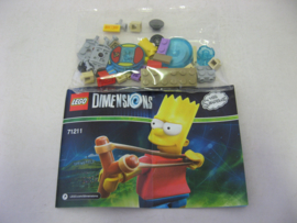 Lego Dimensions - Fun Pack - The Simpsons - Bart (New)