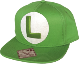 Cap: Luigi - Snapback Green (New)