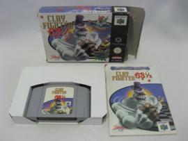 Clay Fighter 63 1/3 (EUR, CIB)