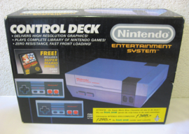 NES Console Set 'Control Deck + Super Mario Bros' (Boxed, FAH)