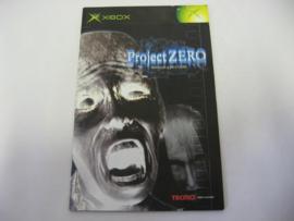 Project Zero *Manual* (XBX)