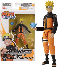 Naruto - Anime Heroes: Uzumaki Naruto - Action Figure (New)