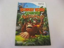Donkey Kong Country Returns *Manual* (HOL)