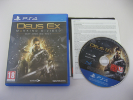 Deus Ex Mankind Divided - Day One Edition (PS4)