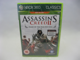 Assassin's Creed II - Game of the Year Edition - Classics (360, Sealed)