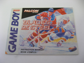 Blades of Steel *Manual* (FAH)