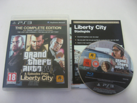 GTA - Grand Theft Auto IV & Episodes From Liberty City - Complete Edition (PS3)