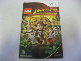 Lego Indiana Jones - The Original Adventure *Manual* (UKV)