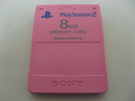 PlayStation 2 Official Memory Card 8MB 'Pink'