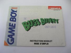 Bugs Bunny in Crazy Castle *Manual* (FAH)